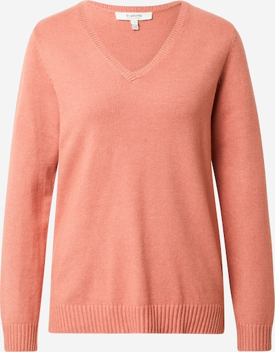 b.young Pullover 'Nonina' in apricot, Produktansicht