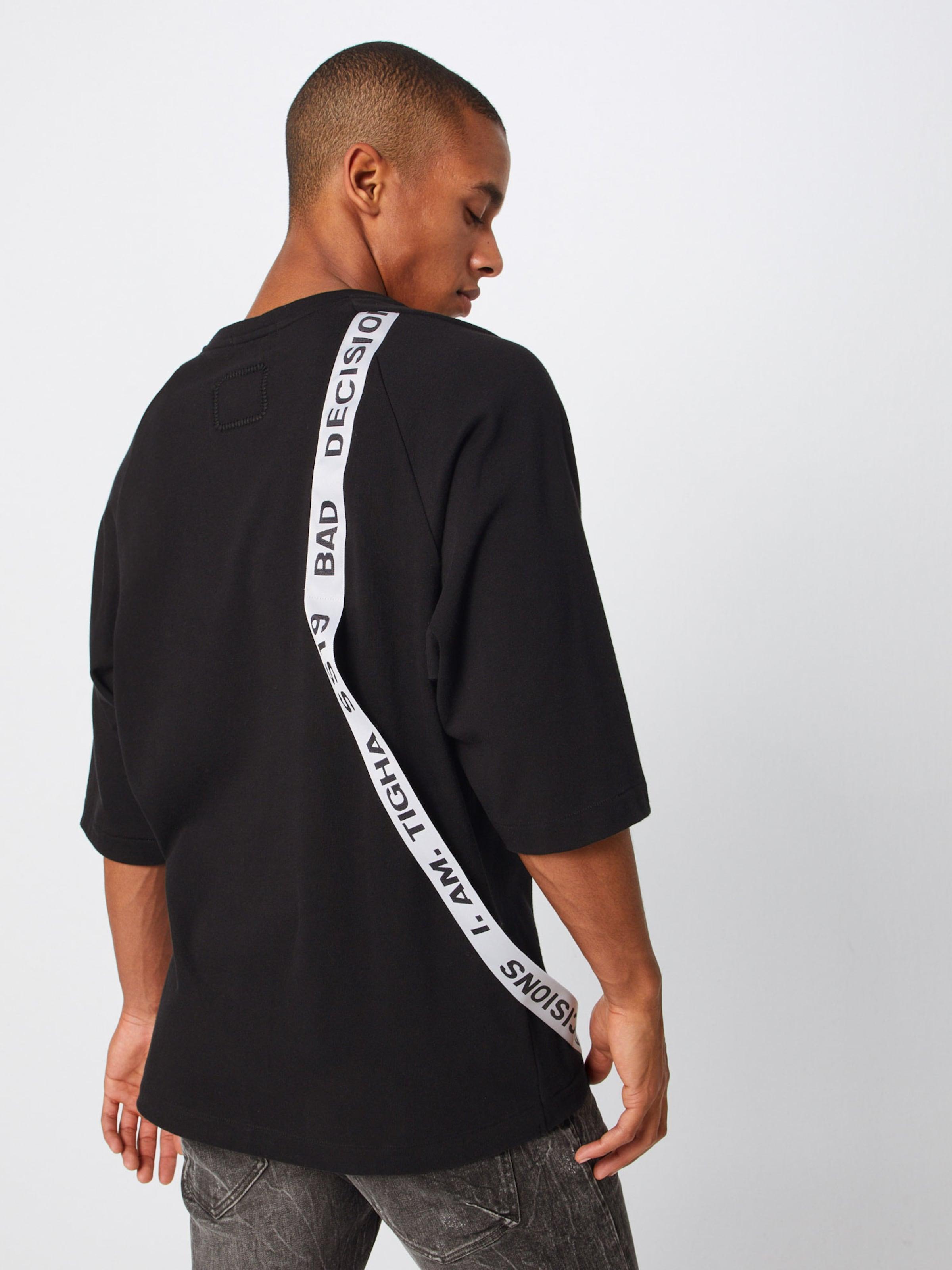 Shirt Schwarz Tigha 'lucas' Tigha Shirt In q5Aj4RL3