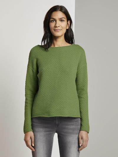 TOM TAILOR Pullover in grasgrün, Modelansicht