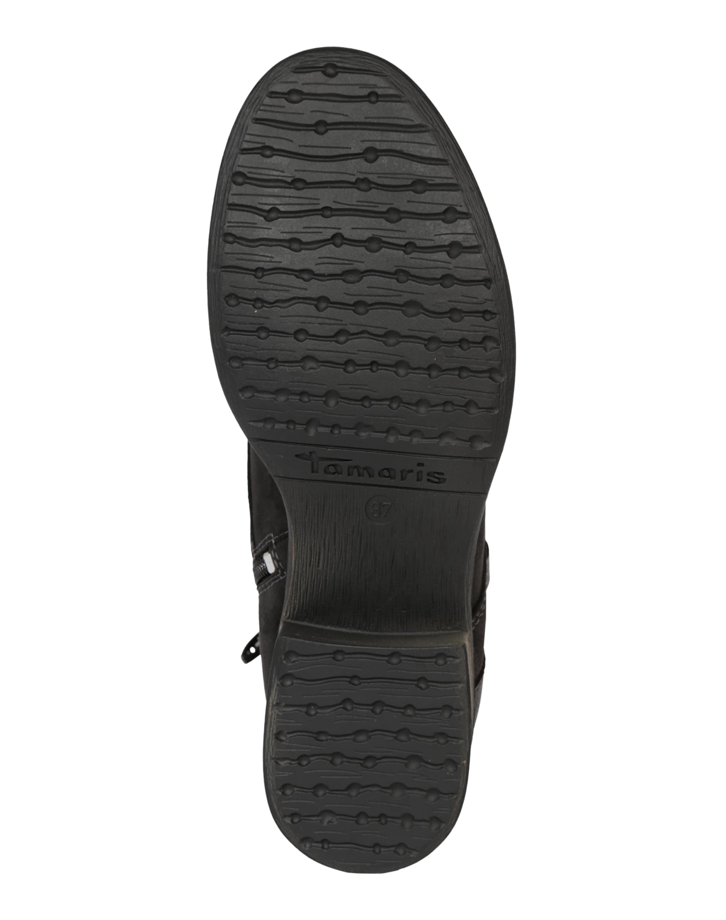 TAMARIS Schnürstiefel Schnürstiefel TAMARIS mit Nieten Leder, Textil Lässig wild fc2cb6