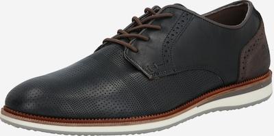 Batai su raišteliais iš BULLBOXER , spalva - šviesiai ruda / juoda, Prekių apžvalga