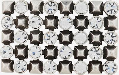 RETTUNGSRING by showroom 019° Wechselschließe in schwarz / silber / weiß, Produktansicht
