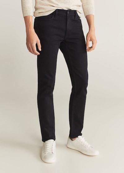 MANGO MAN Jeans 'Jan' in schwarz, Modelansicht
