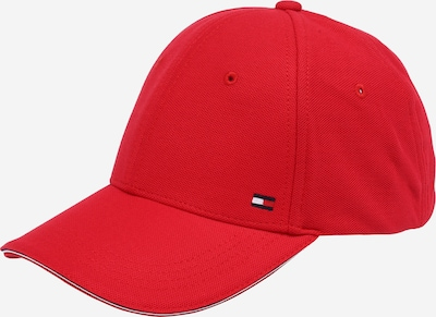 TOMMY HILFIGER Casquette 'ELEVATED CORPORATE' en rouge, Vue avec produit