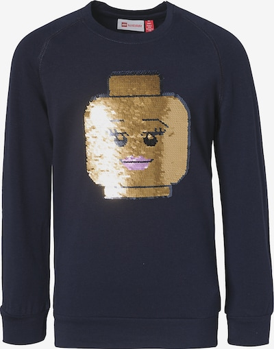 LEGO WEAR Shirt in dunkelblau / gold, Produktansicht