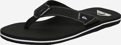 QUIKSILVER Sandalen 'MOLOKAI ABYSS M SNDL XGKG' in de kleur Zwart, Productweergave
