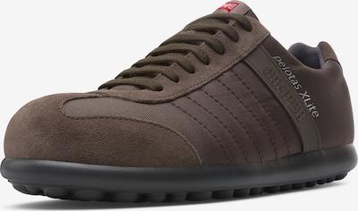 CAMPER Sneaker 'Pelotas XLite' in dunkelbraun: Frontalansicht