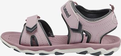 Hummel Open schoenen 'Buckle' in de kleur Grijs / Rosa, Productweergave