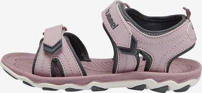 Hummel Sandalen 'Buckle' in grau / rosa, Produktansicht