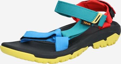 TEVA Sandales en mélange de couleurs, Vue avec produit