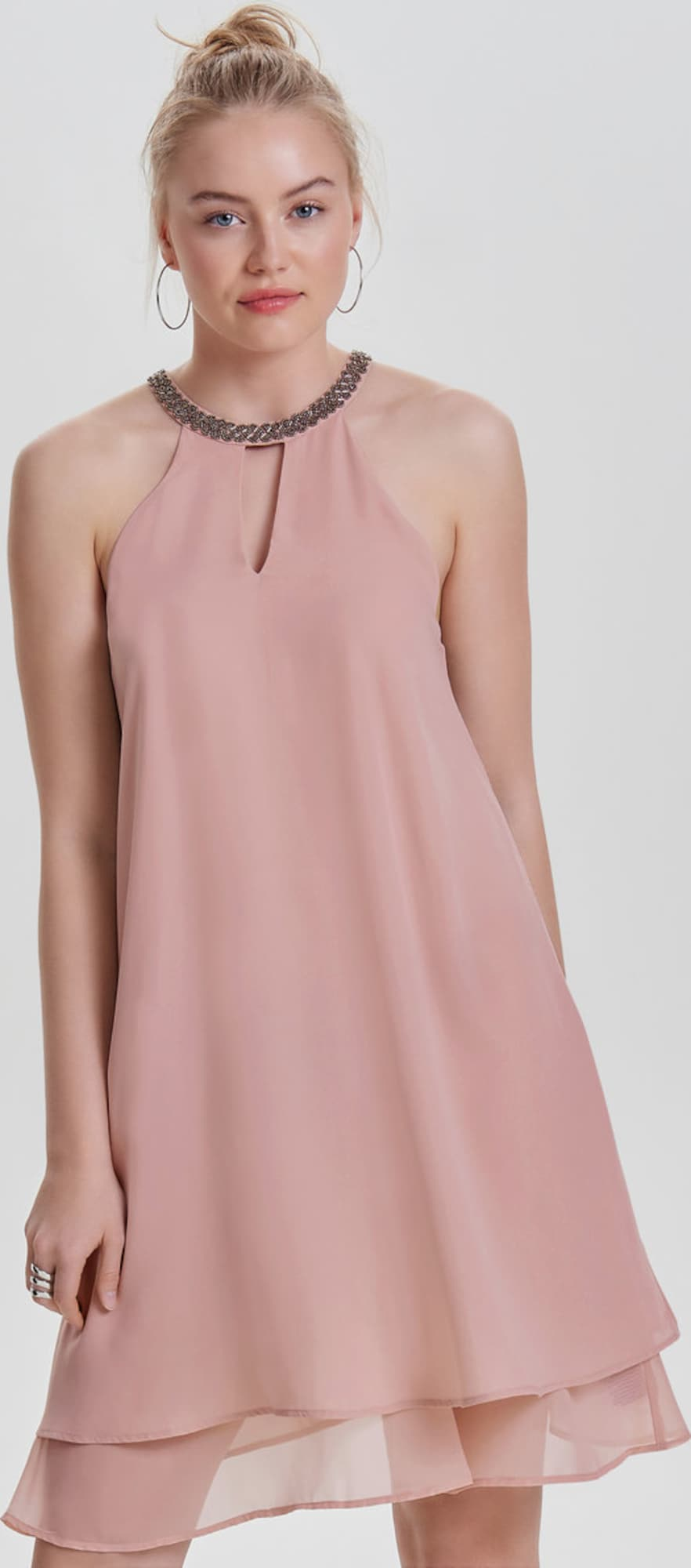 ONLY Neckholder-Kleid 'onlEATER' in pink | ABOUT YOU