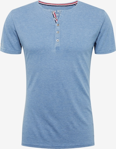 Tricou 'DIETER' Key Largo pe albastru: Privire frontală