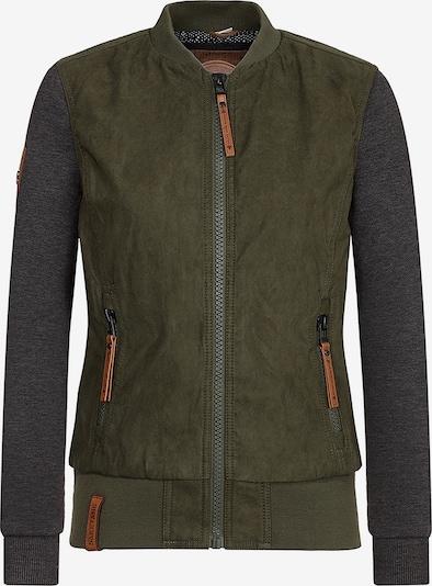 naketano Jacke in oliv / dunkelgrün, Produktansicht
