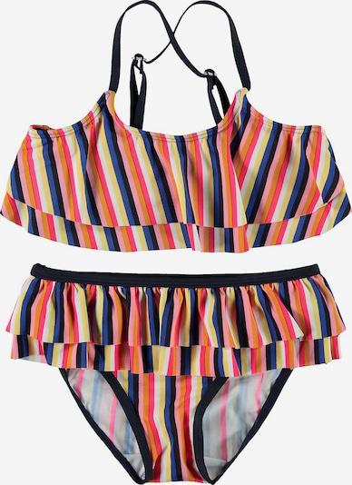NAME IT Bikini in royalblau / gelb / orange / schwarz, Produktansicht