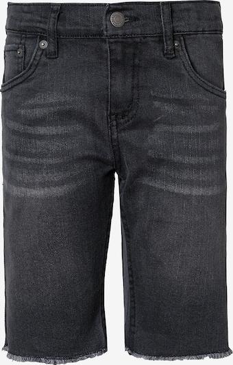 LEVI'S Shorts 'CUFFED' in black denim, Produktansicht