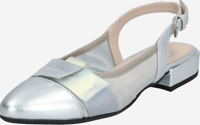 Donna Carolina Slingpumps in silber, Produktansicht