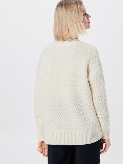 Megztinis iš EDC BY ESPRIT , spalva - balkšva: Vaizdas iš galinės pusės