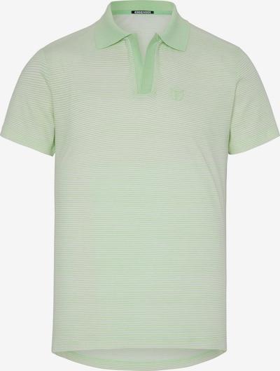 CHIEMSEE Shirt in hellgrün / weiß, Produktansicht