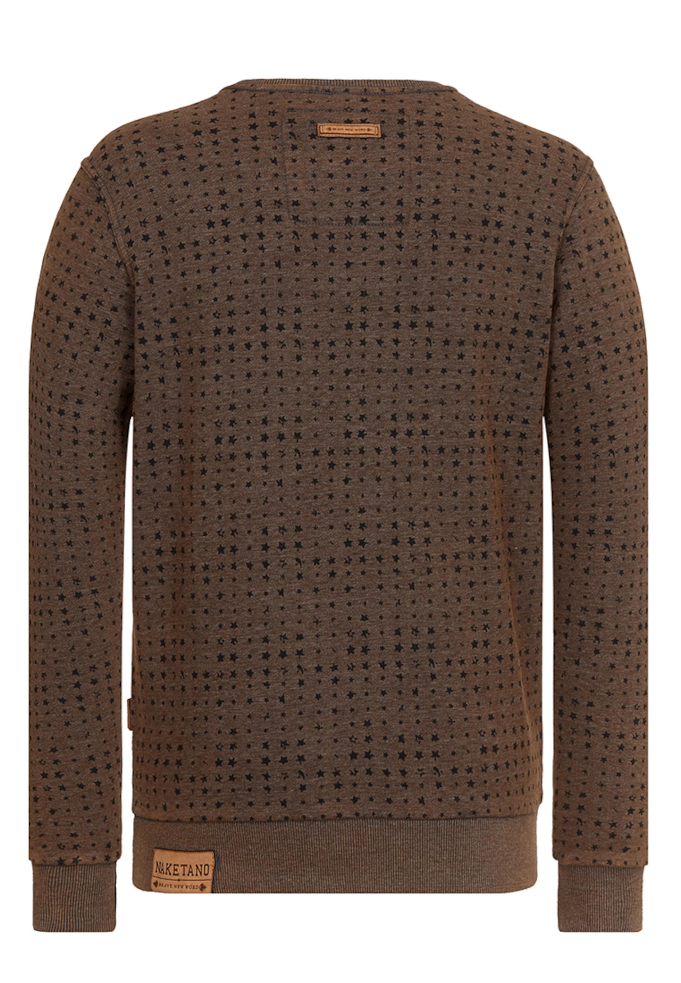 naketano Male Sweatshirt 'Tinte Aufm Füller III' 2018 Neueste Online Mode Zum Verkauf Günstig Kaufen Zuverlässig utCnzsHz