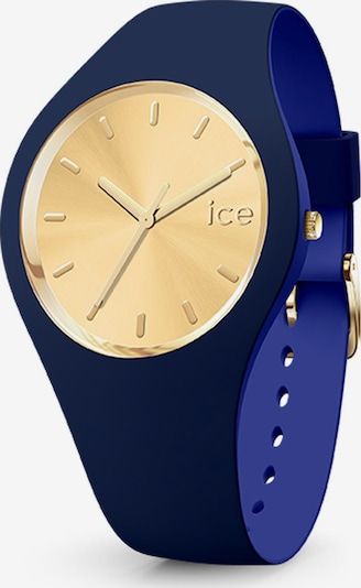 ICE WATCH Uhr in blau / gold, Produktansicht