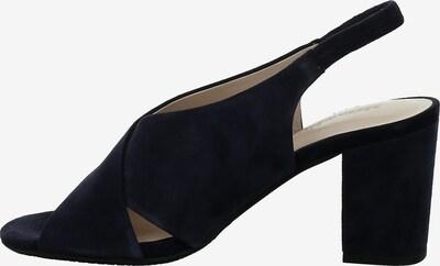 GERRY WEBER Klassische Sandaletten '10' in dunkelblau, Produktansicht