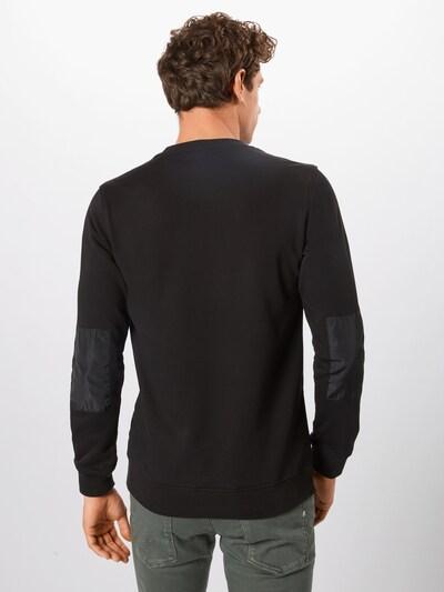 Urban Classics Bluzka sportowa w kolorze czarnym: Widok od tyłu