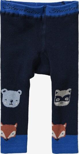 STERNTALER Leggings in blau / navy / braun / grau, Produktansicht
