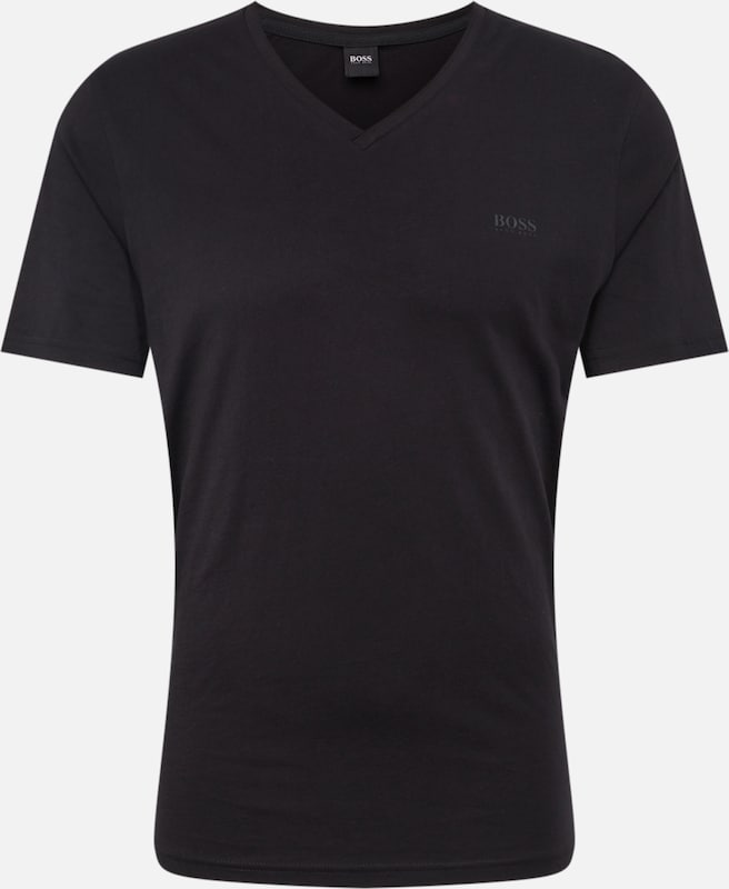 BOSS Shirt 'Truth 10204207 01' in schwarz: Frontalansicht