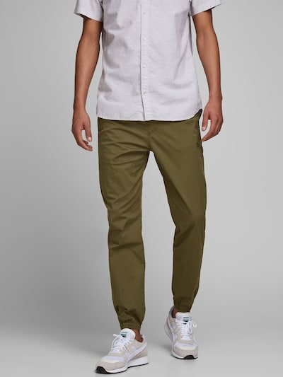 JACK & JONES Hose in oliv, Modelansicht