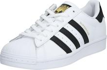 ADIDAS ORIGINALS tenisky SUPERSTAR v zlatej/čiernej/bielej farbe