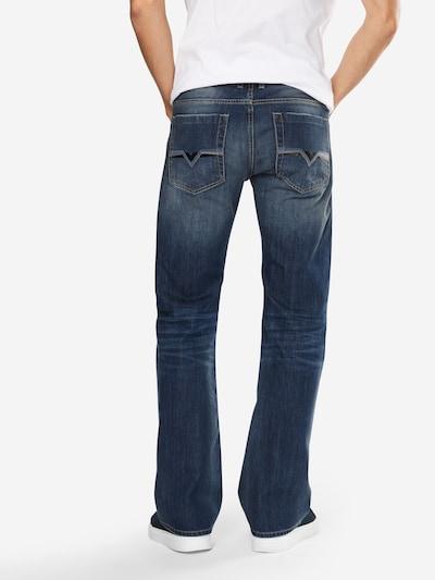 DIESEL Jeans 'ZATINY' in blue denim: Rückansicht