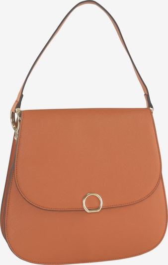 heine Tasche in braun / orange, Produktansicht