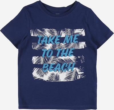 NAME IT Shirt 'Victor' in blau, Produktansicht