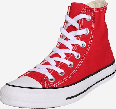 CONVERSE Sneaker High 'Chuck Taylor All Star' in rot / weiß, Produktansicht