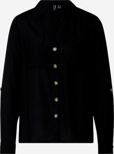 Bluză 'Bumpy' VERO MODA pe negru, Vizualizare produs