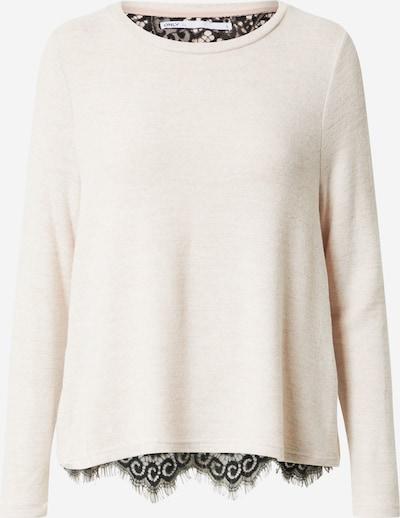 ONLY Pullover 'MAYEA' in pastellpink / schwarz, Produktansicht