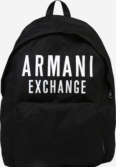 ARMANI EXCHANGE Batoh - černá / bílá, Produkt