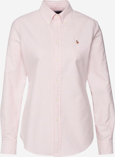 POLO RALPH LAUREN Blouse in pink / white, Item view