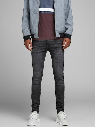 JACK & JONES LIAM ORIGINAL JJ 179 50SPS LID Skinny Fit Jeans in dunkelgrau, Produktansicht