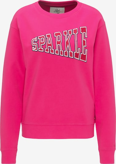 Petrol Industries Sweatshirt in de kleur Pink / Lichtrood / Wit, Productweergave