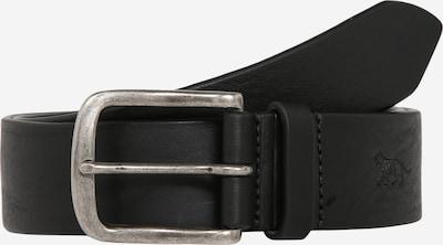 Tiger of Sweden Riem 'Antone' in de kleur Zwart / Zilver, Productweergave