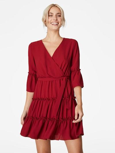 LeGer by Lena Gercke Blousejurk 'Havin' in de kleur Bordeaux, Modelweergave