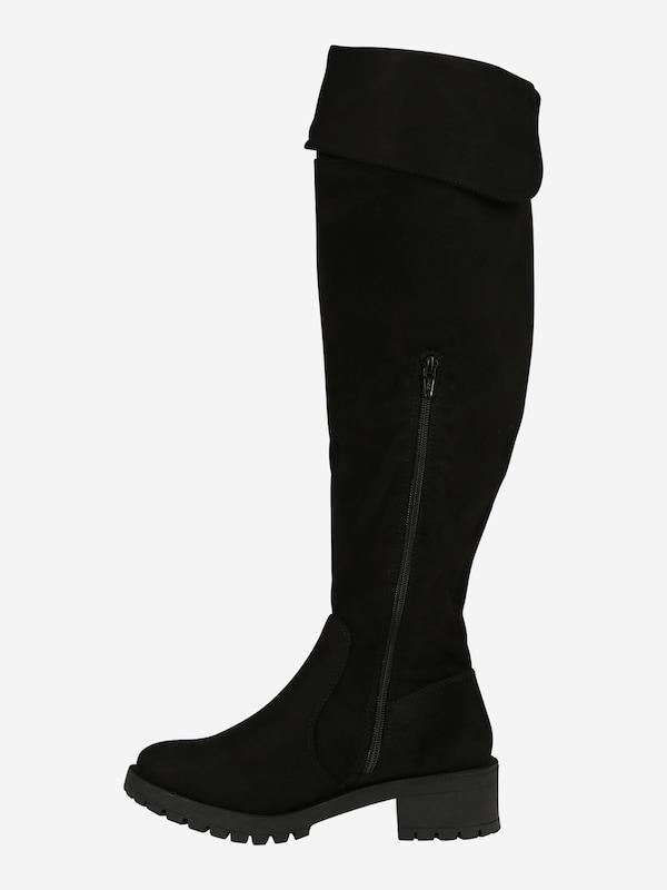 Bianco Overknee laarzen 'BIACLAIRE' in Zwart | ABOUT YOU