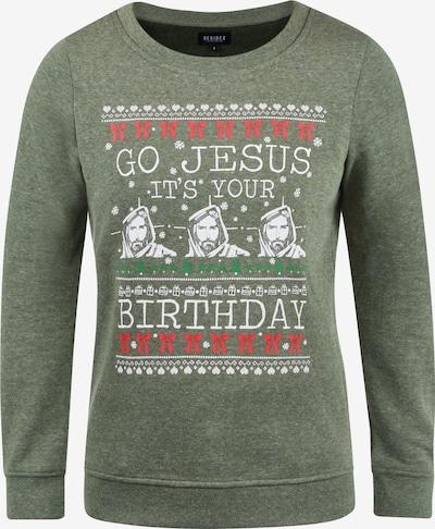 DESIRES Sweatshirt 'Christi' in grün / khaki / dunkelgrün / grünmeliert, Produktansicht