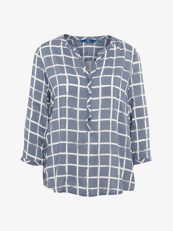 Tom Tailor Shirt / Blouse Plaid Blouse