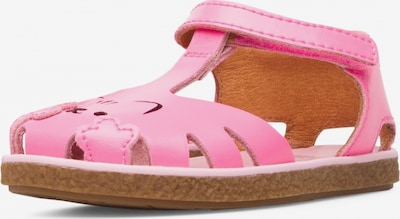 CAMPER Sandale 'Twins' in pink: Frontalansicht
