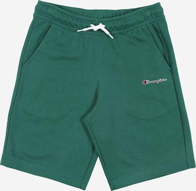 Champion Authentic Athletic Apparel Hose 'Bermuda' in grün / weiß, Produktansicht