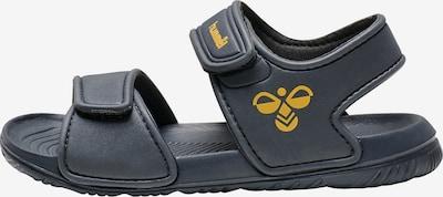 Hummel Sandale 'PLAYA' in blau / gelb, Produktansicht