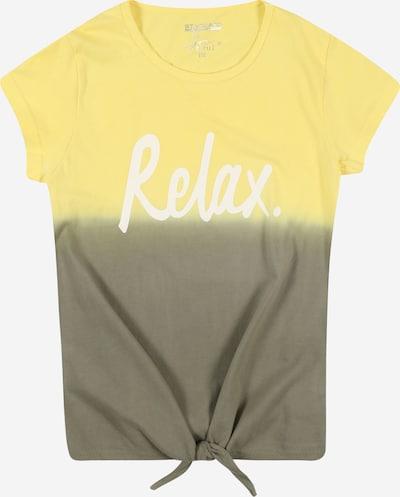 STACCATO Shirt in gelb / khaki, Produktansicht