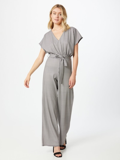 SISTERS POINT Overall in creme / schwarz, Modelansicht
